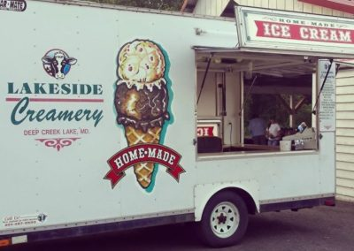 Lakeside Creamery Ice Cream Truck